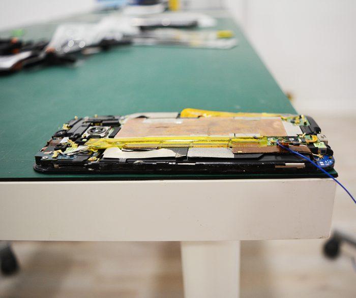 Reparar pantalla móvil